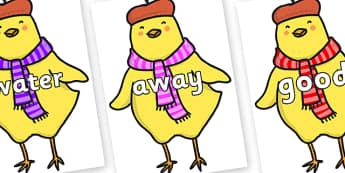 Next 200 Common Words on Chicken Licken - Next 200 Common Words on  - DfES Letters and Sounds, Letters and Sounds, Letters and sounds words, Common words, 200 common words