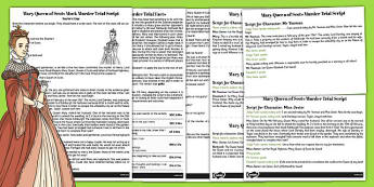 Mary Queen of Scots Mock Murder Trial Script - mary, scot, murder
