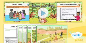 RE: Light and Dark: Rama and Sita (Hindusim) Year 2 Lesson Pack 3