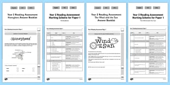 Year 2 Reading Assessment Term 2 Paper 1 - formative, summative, diagnostic, fiction, non-fiction