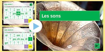 Les sons de base en Français - french, French Letters Sounds, Lettres Sons