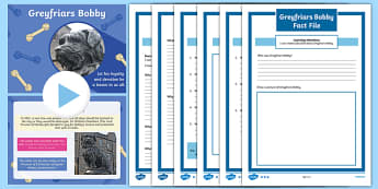 Greyfriars Bobby Activity Pack-Scottish