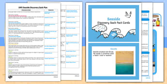 * NEW * EYFS Seaside Discovery Sack Plan and Resource Pack - EYFS, seaside, discovery sack