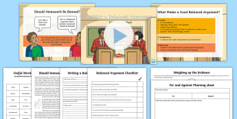 constructing an argument examples