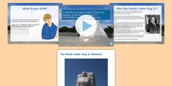 Is the Martin Luther King Jr Memorial Worthy of His Achievements? Debate Pack  - civil, rights, racism, peaceful, protest, discussion, uSA, ks3