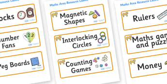 Lion Cub Themed Editable Maths Area Resource Labels - Themed maths resource labels, maths area resources, Label template, Resource Label, Name Labels, Editable Labels, Drawer Labels, KS1 Labels, Foundation Labels, Foundation Stage Labels, Teaching La