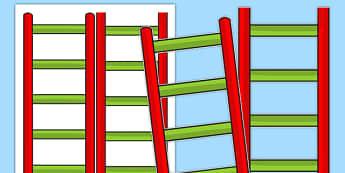 Blank Reading Ladder - blank, reading ladder, reading, ladder, read, targets
