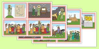 Pwerbwynt Stori Dewi Sant - welsh, cymraeg, st davids day, powerpoint, story