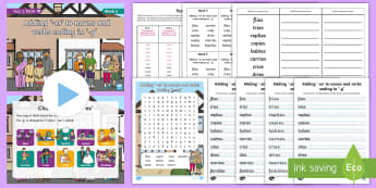 Year 2 Term 1B Week 5 Spelling Pack - Spelling Lists, Word Lists, Autumn Term, List Pack, SPaG