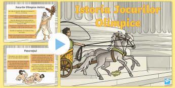 Istoria Jocurilor Olimpice - istorie, grecia, grecia antica,a ntichitate, română, materiale, română, prezentări, Romanian