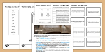 Romeo and Juliet Plot Activity Pack
