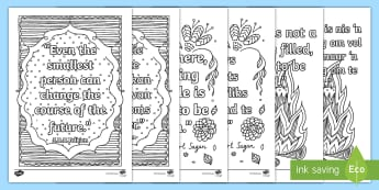 Classroom Inspiration Quotes Mindfulness Colouring Pages English/Afrikaans - fine motor skills, pencils, crayons, creative, fynmotories, kreatief, EAL