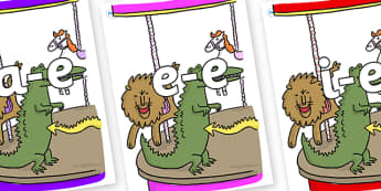 Modifying E Letters on Trick 3 to Support Teaching on The Enormous Crocodile - Modifying E, letters, modify, Phase 5, Phase five, alternative spellings for phonemes, DfES letters and Sounds