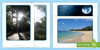 Lignt and Dark Display Photos - Display Posters, Light and Dark, Day and Night, A4, display, science, day, night, shadow, reflection, reflective, bright, tint, colour, shade