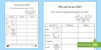 Mathematik Größen und Messen Primary Resources - Page 5