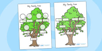 My Family Tree - family, ourselves, family tree, families