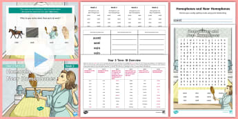 Year 3 Term 2B Week 2 Spelling Pack - Spelling Lists, Word Lists, Spring Term, List Pack, SPaG