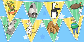 Bunting to Support Teaching on The Great Pet Sale - pets, animals, bunting, display