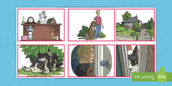 The Dual World of Anders Arnfield Story Sequencing Cards - ordering, comprehension, plot, fiction, events, adventure, originals