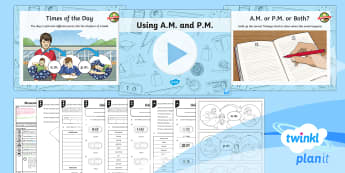 PlanIt Maths Y3 Measurement Lesson Pack Time Vocabulary (2)