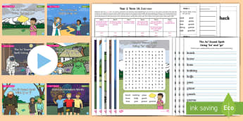 Year 2 Term 1A Bumper Spelling Pack - spag, spelling lists, word lists, gps, spell