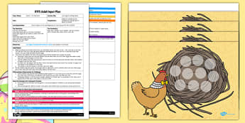 Lost Eggs Counting Game EYFS Adult Input Plan and Resource Pack - easter games, math