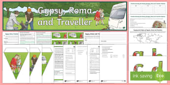 Gypsy, Roma and Traveller History Month Resource Pack - travellers, Gypsies, cultures, communities, Henry VIII, turnpike act, romanchial,