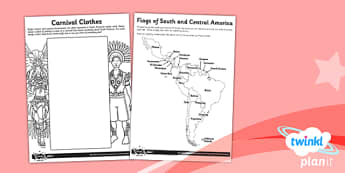 Art: South and Central American Art UKS2 Unit Home Learning Tasks