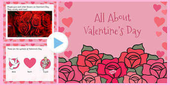 All About Valentine's Day PowerPoint - valentine, love, cupid