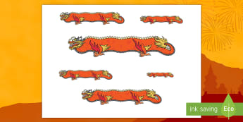 Chinese Dragon Measuring Activity - EYFS, Early Years, cm, centimetre, KS1, Key Stage 1, Chinese New Year, Dancing Dragon, Dragon Dance,