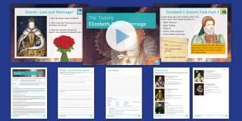 The Tudors Lesson 7: Elizabeth I and Marriage - Elizabeth, Tudor, Marriage, throne, queen, heir