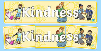 Kindness Day Display Banner