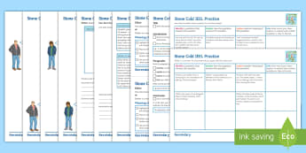 Extended Writing Tasks Activity Pack to Support Teaching on 'Stone Cold' by Robert Swindells - Essay, IEEL, PEE, PEEL, Shelter, Link, Stone Cold, quotes, model paragraphs