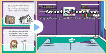 Around My Home Song PowerPoint