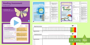 Year 1 Term 3 Paper 2 Reading Assessment Bumper Resource Pack - Year 1 Reading Assessment Guided Lesson PowerPoints, reading, read, assessment, test, powerpoint, ye