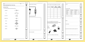 Year 6 Electricity End of Unit Assessment - assessment, electricity, year 6, test
