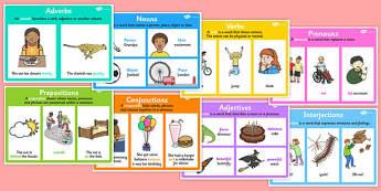 Word Type Display Poster Pack - display posters, display pack