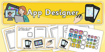 App Designers Role Play Pack-app designers, role play, app design pack, role play pack, role play material, design role play, activities, game