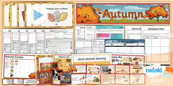 Art: LKS2 Autumn Unit Pack