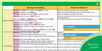EYFS Report Writing Statements Birth to Exceeding with CoEL and General Comments Report - assessment, reporting, ELG, Early Learning Goals, Development Matters, month bands, EYOs, Early Year