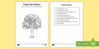 NI KS1 Numeracy Instructions Activity Sheet - NI KS1 Numeracy, instructions, maths play activity, worksheet