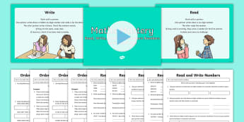 Year 5 Read Write Order Compare Maths Mastery Resource Pack - Year 5 Maths Mastery Activities,read numbers, write numbers, order numbers, Read, write, order and c
