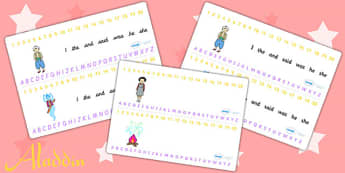 Aladdin Combined Number and Alphabet Strips - aladdin, visual aid