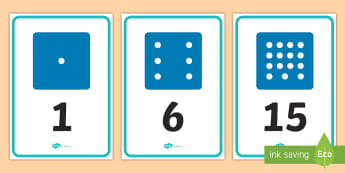 Numbers 0 to 20 on Dice Display Numbers - maths, mathematics, number, display, numbers, a4, a5, 0-20, 0-10, 1-20, 1-10, dice, dice face, dice