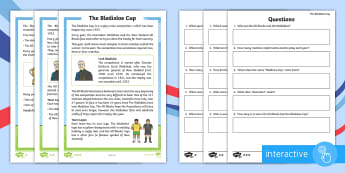 F-2 Bledisloe Cup Differentiated Comprehension Go Respond Activity Sheets - rugby, union, sport, reading, all blacks, wallabies,Australia
