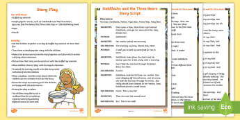 Story Play Activity - animals, love, role play, literacy, imagination, creativity, words, sentence