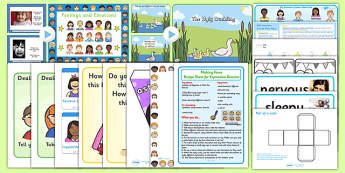 Emotions KS1 Lesson Plan Ideas and Resource Pack - lesson plan