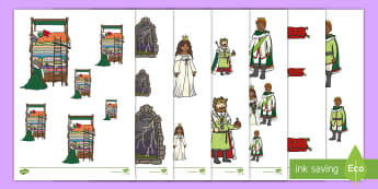The Princess and the Pea Size Ordering - EYFS, Early Years, KS1, Key Stage 1, The Princess and the pea, Traditional Tales, Fairy tales, Maths