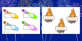 Firework Self-Registration - bonfire night, bonfire, Guy Fawkes, bonfire, Self registration, register, editable, labels, registration, child name label, printable labels, Houses of Parliament, plot, treason, fireworks, Catholic, Protestant, James I,