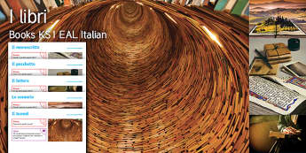 Imagine Books KS1 Resource Pack Italian - Book, Setting, Read, Manuscript, Tunnel, Reader, Reading, Parcel